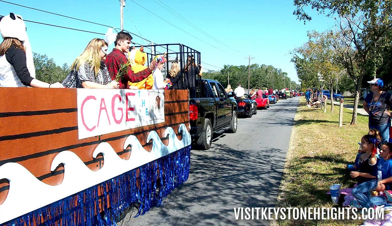 keystone heights homecoming parade