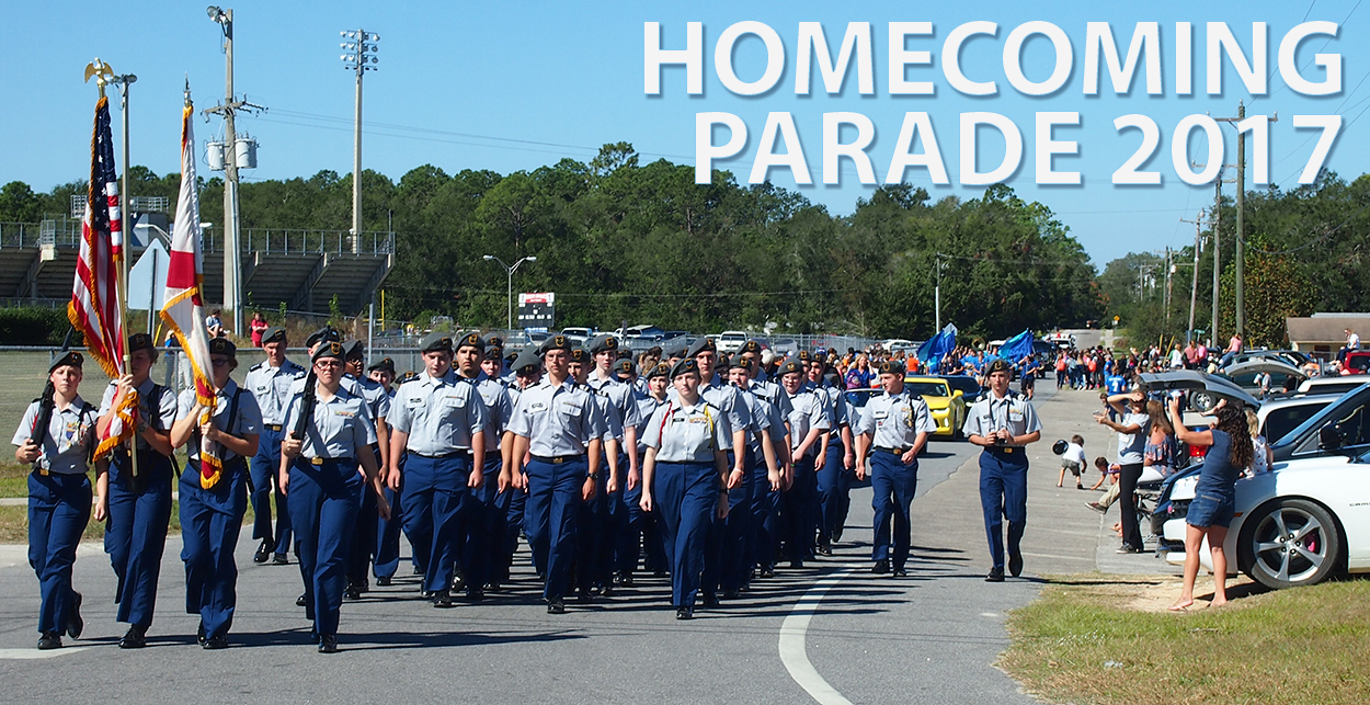 homecoming parade 2017 in keystone heights