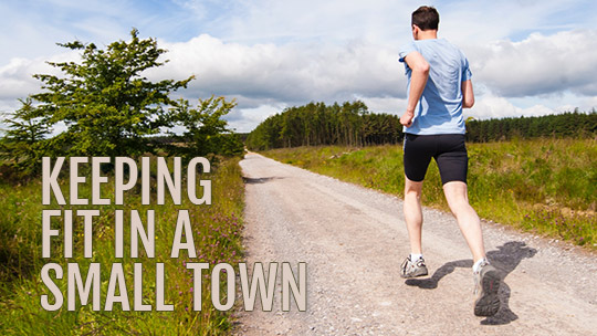 keep fit in small town, keystone heights