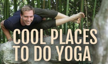 Cool Places in Small Towns to do Outdoor Yoga