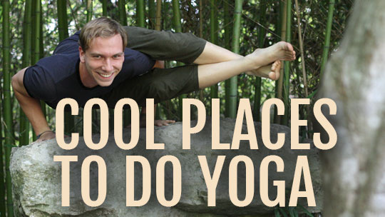 places to do yoga