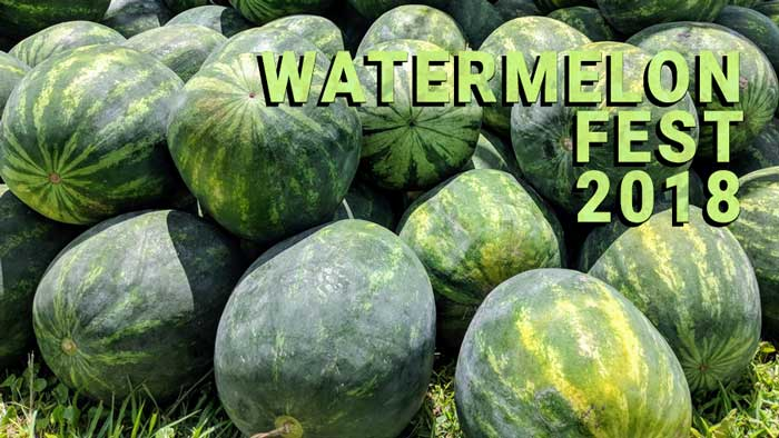 watermelon festival 2018 florida