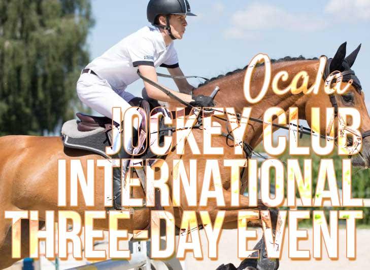 2018 ocala three day event jockey club horse race