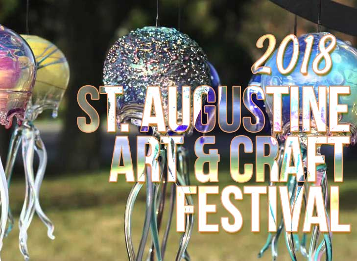 st augustine art and craft festival 2018