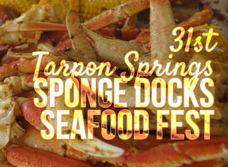 31st Sponge Docks Seafood Festival, Tarpon Springs
