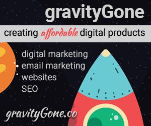 gravityGone - web designer