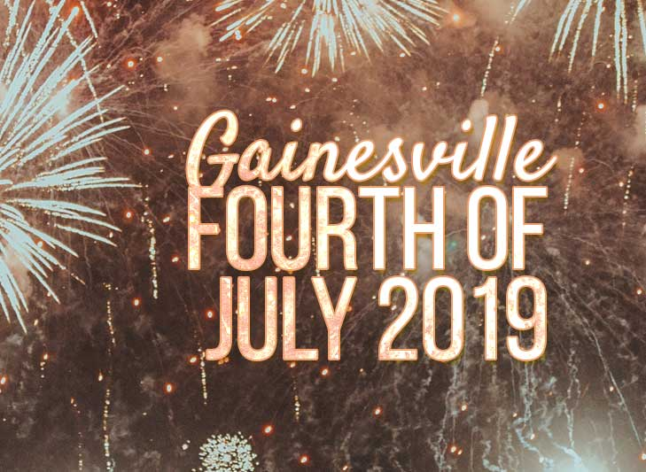 gainesville 2019 fireworks 4th of july