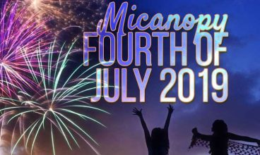 Micanopy 4th of July Fireworks, Parade 2019