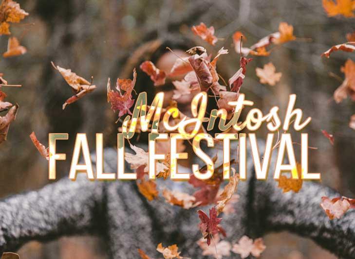 McIntosh 1890's Fall Festival