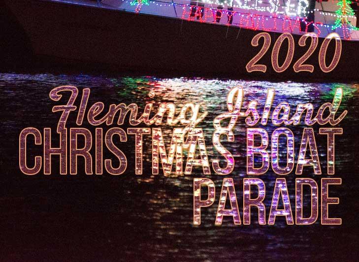 2020 christmas boat parade fleming island